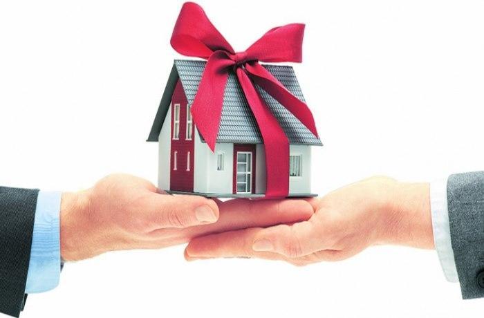 налог с дарения квартиры