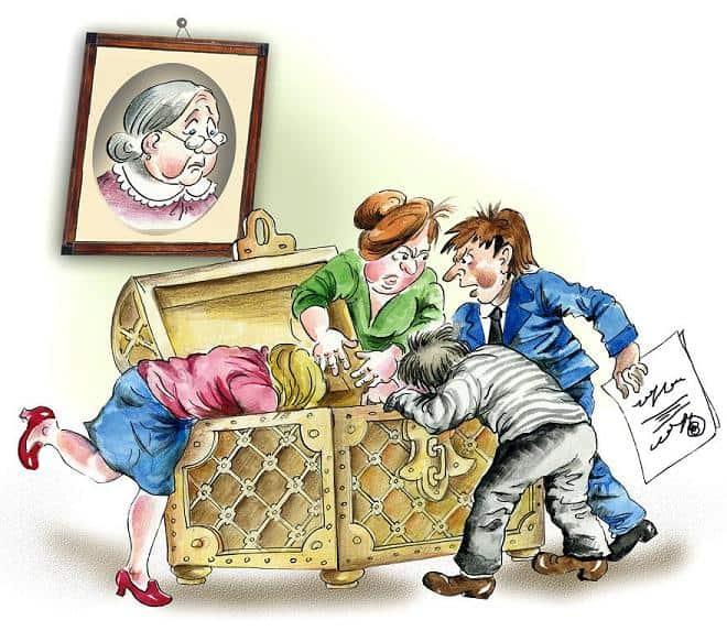 Налог на наследство близких родственников в 2019 году