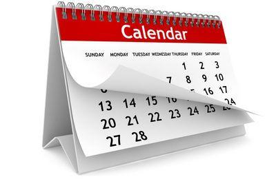 календарь, сроки подачи документов