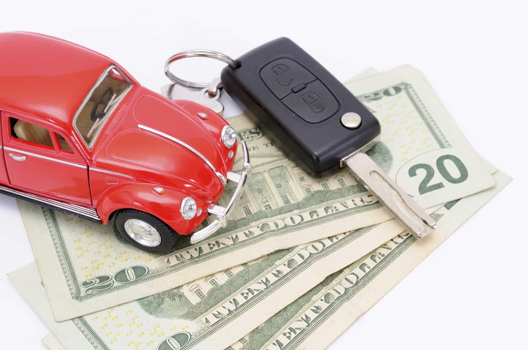 Машина с деньгами