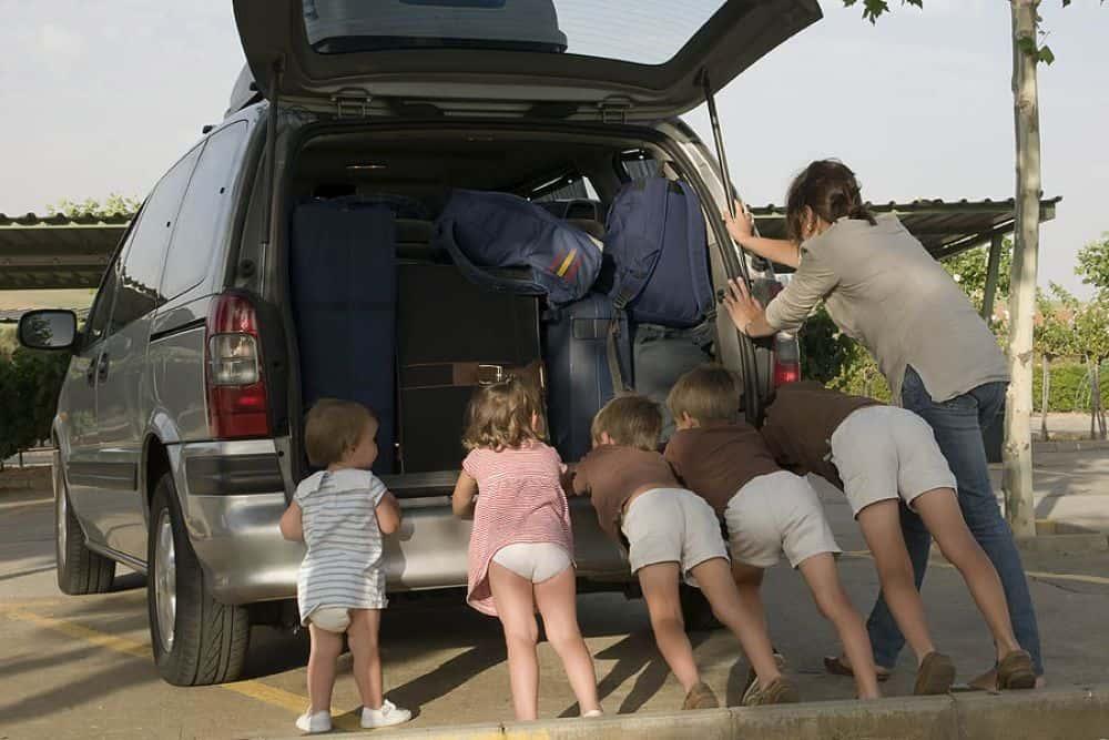 Детки у машины