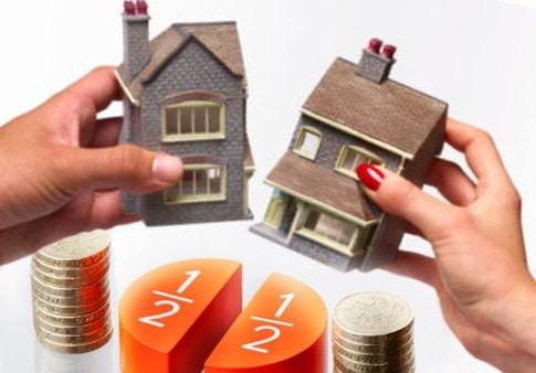 Как при разводе делиться долевая собственность?