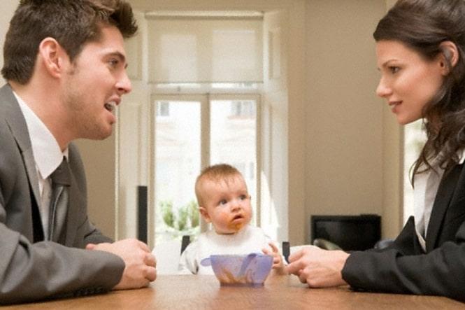 Установление отцовства, факта отцовства и факта признания отцовства