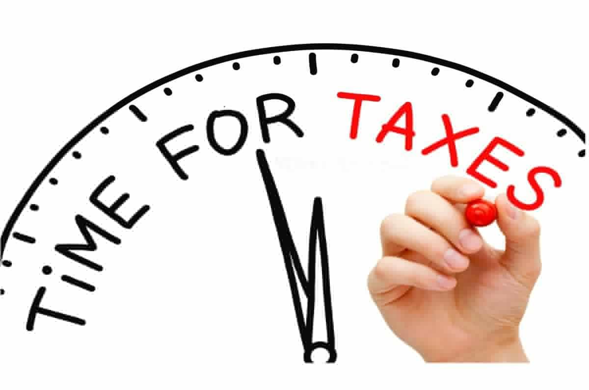 время уплаты налогов