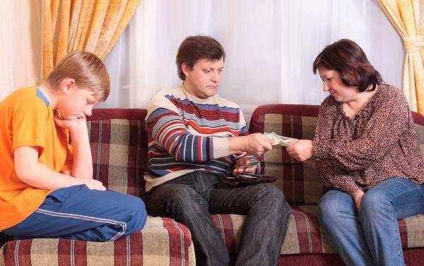 алиментные обязательства перед родителями