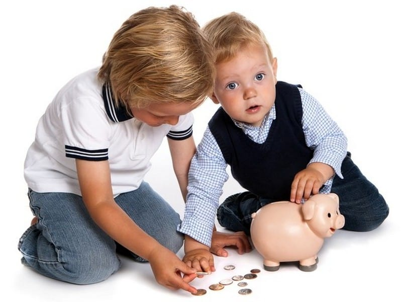 алименты на 2 детей