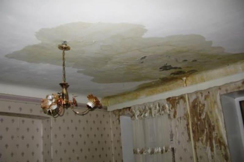 Мокрый потолок