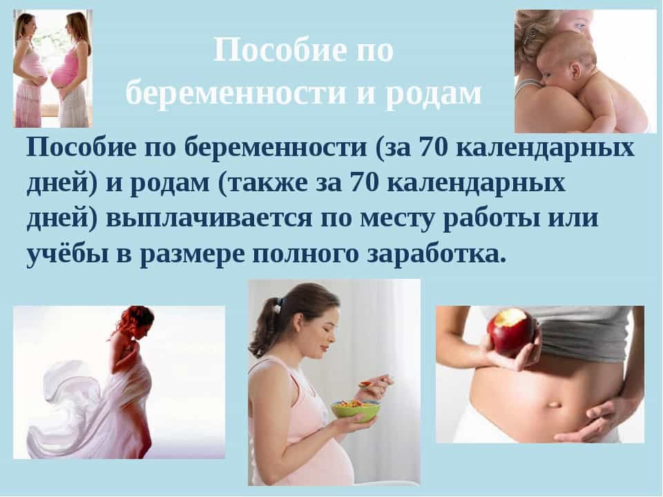 Пособие по беременности