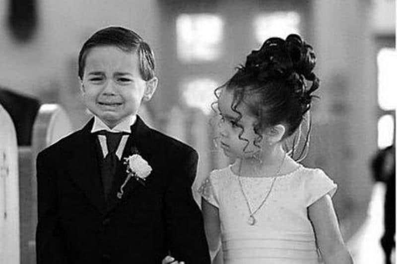 свадьба ребенка