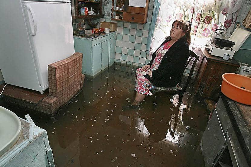 Затопленное помещение