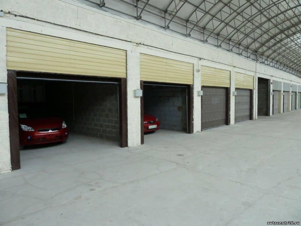 Новенькие гаражи