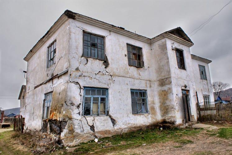 Аварийной здание