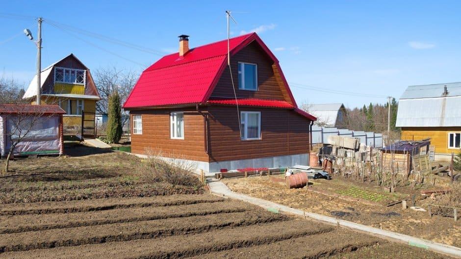 Оформление жилого дома на дачном участке