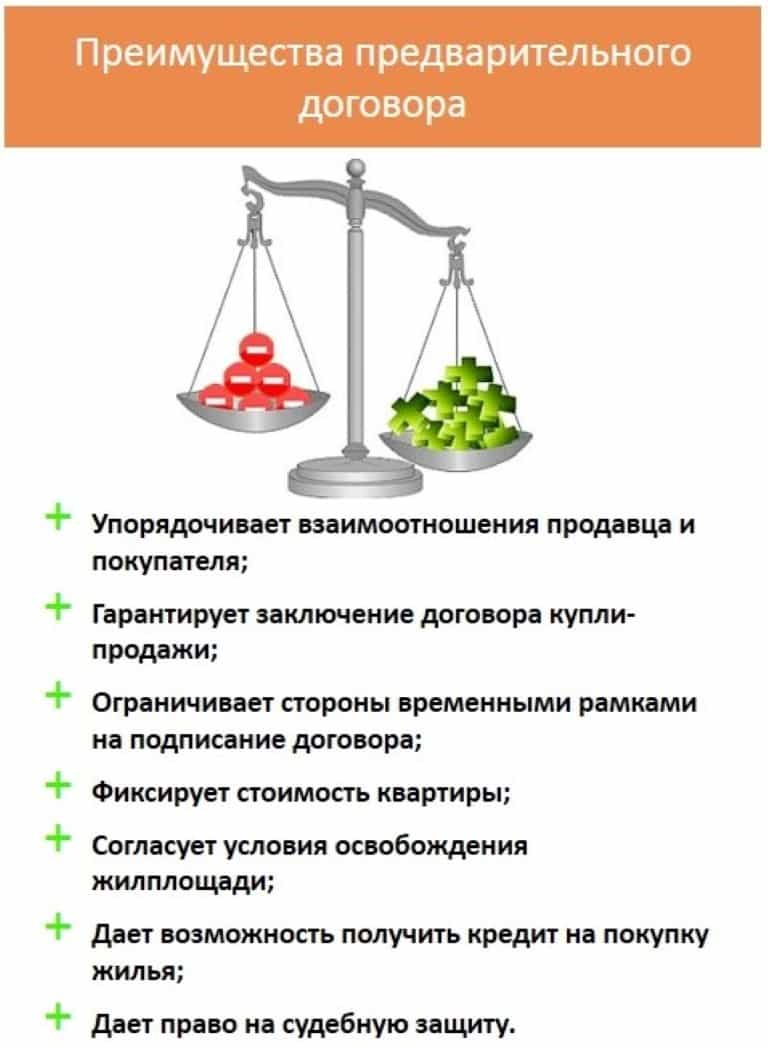 Преимущества договора