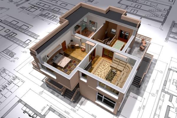 3D модель планировки