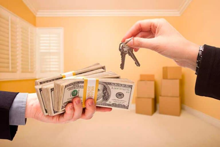 Деньги за квартиру