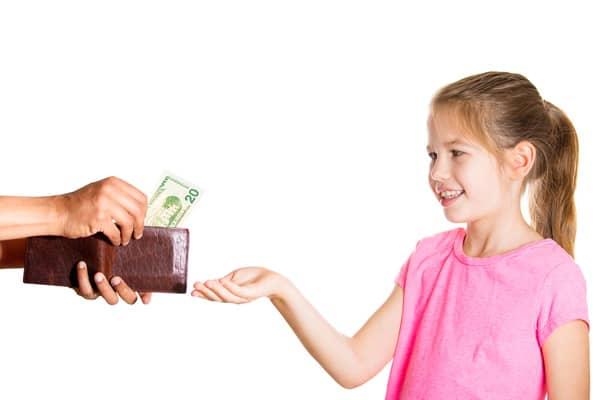 выплаты на содержание ребенка