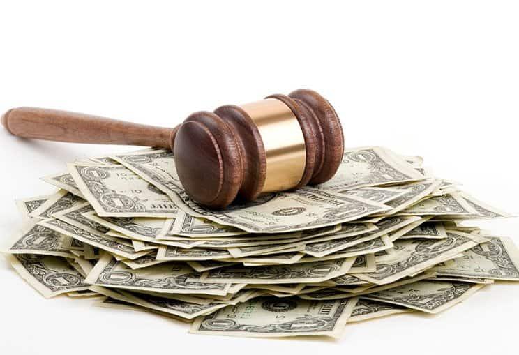 Арест денежных средств