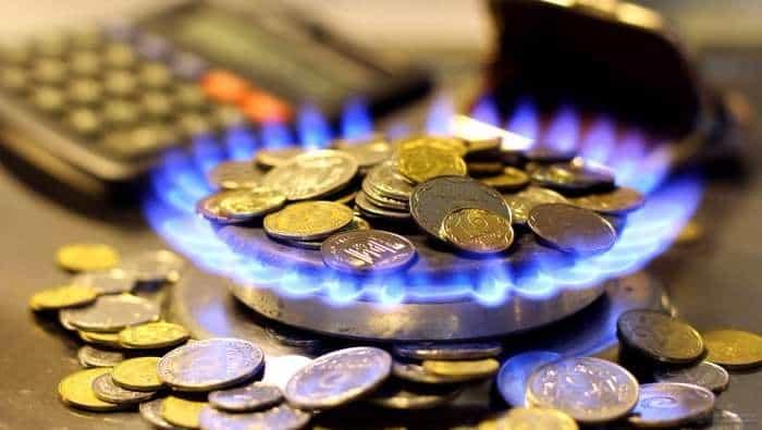 тарифы за газ