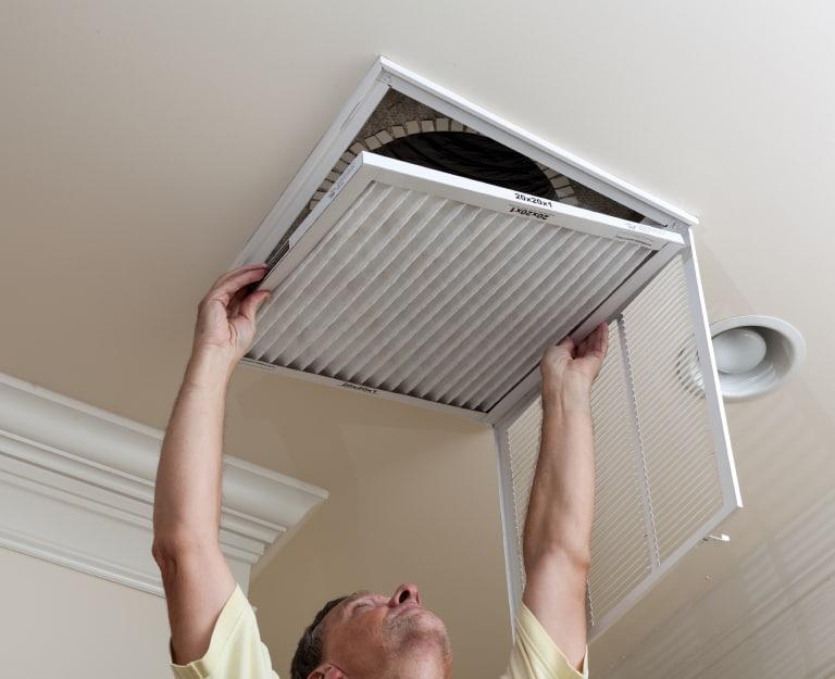 снятие вентиляционных решеток
