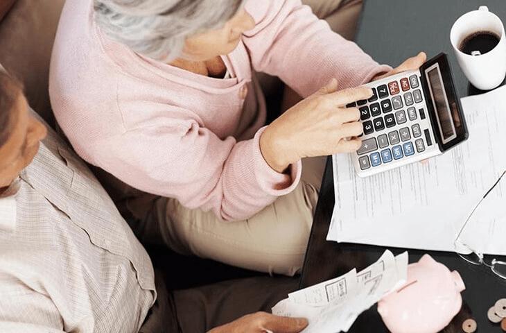 Общая формула расчета пенсии