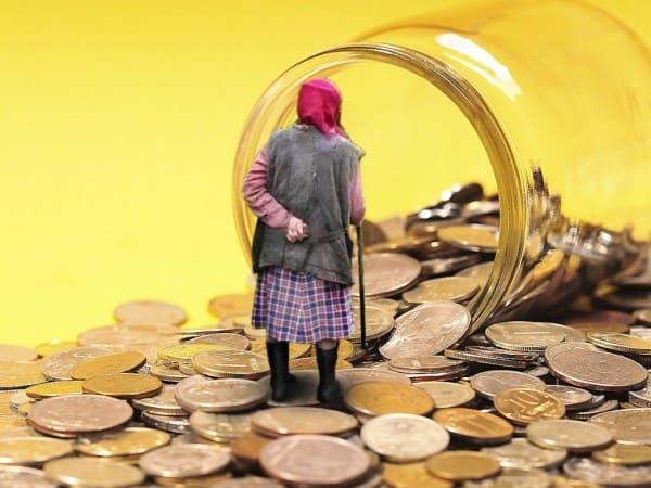среднее пенсионное обеспечение в РФ