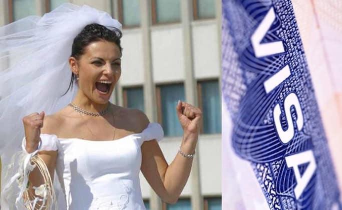 виза для невесты