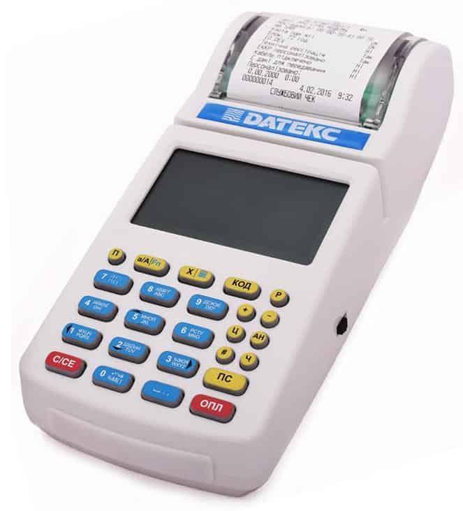 печать фискального чека