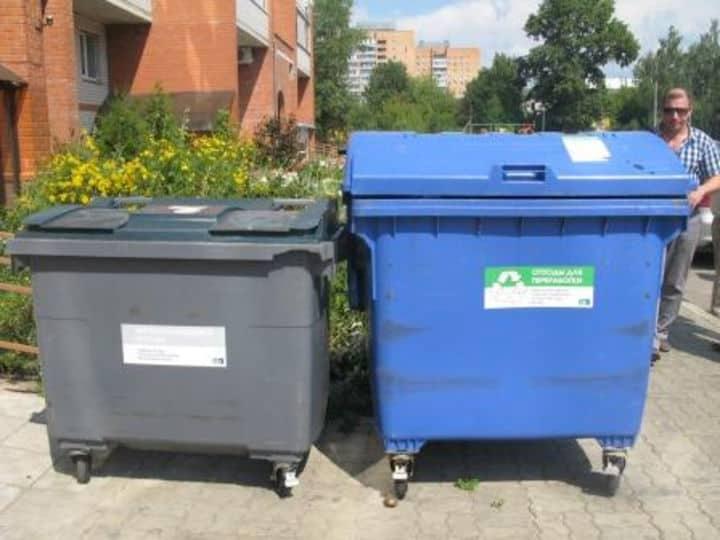 распределение мусора