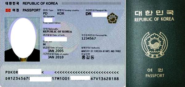 долгосрочная виза в Южную Корею