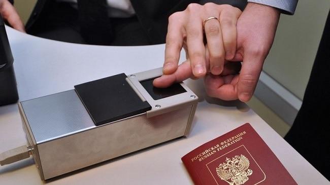 сдача биометрии для визы в Испанию