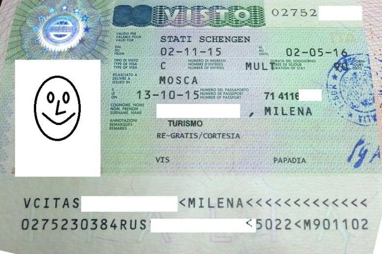 виза в Испанию.