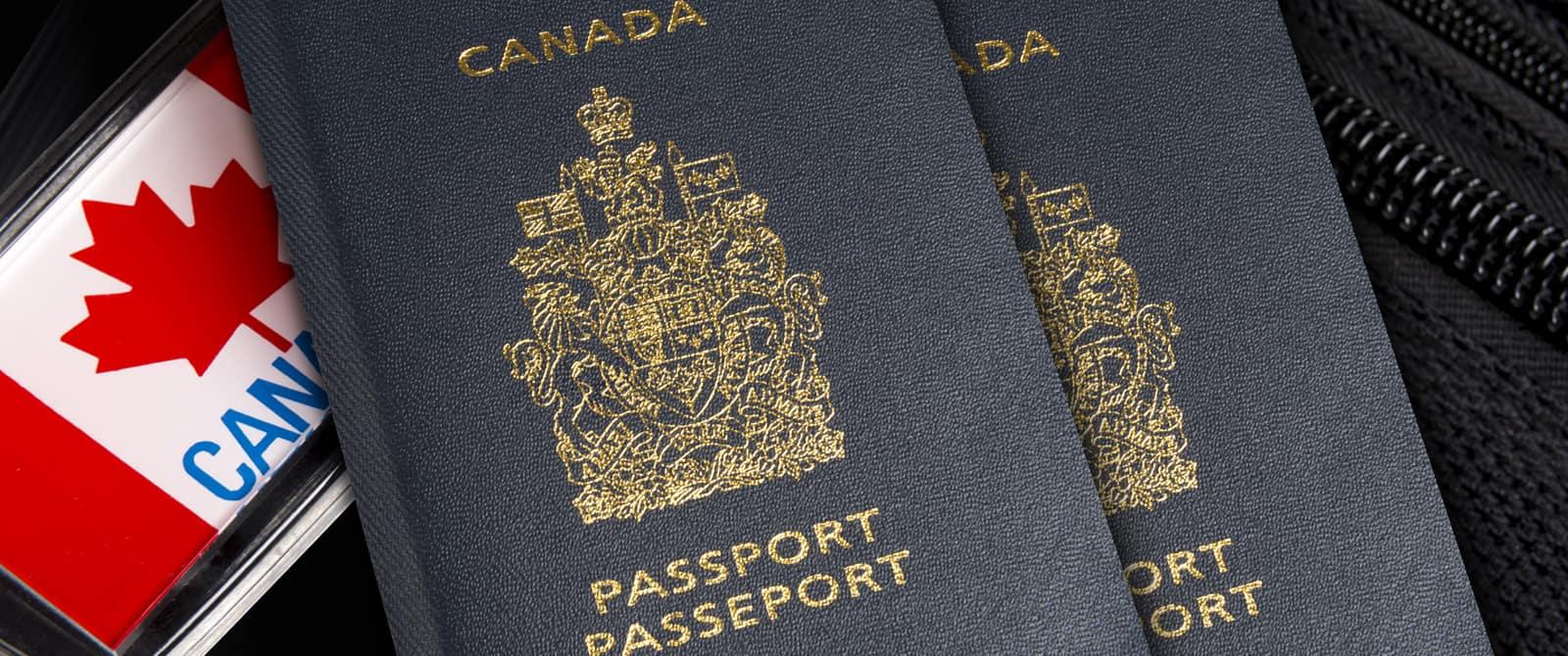 Паспорт гражданина Канады