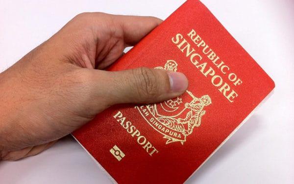 Паспорт гражданина Сингапура