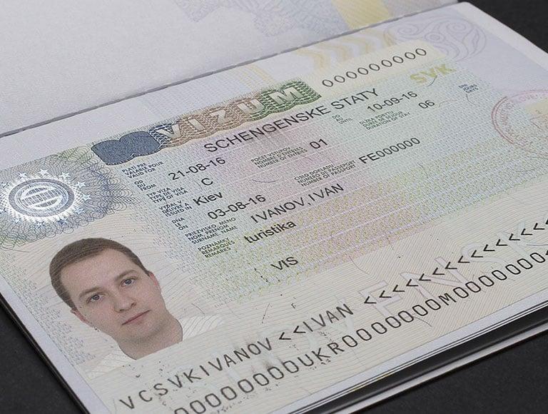 виды виз в Словакию