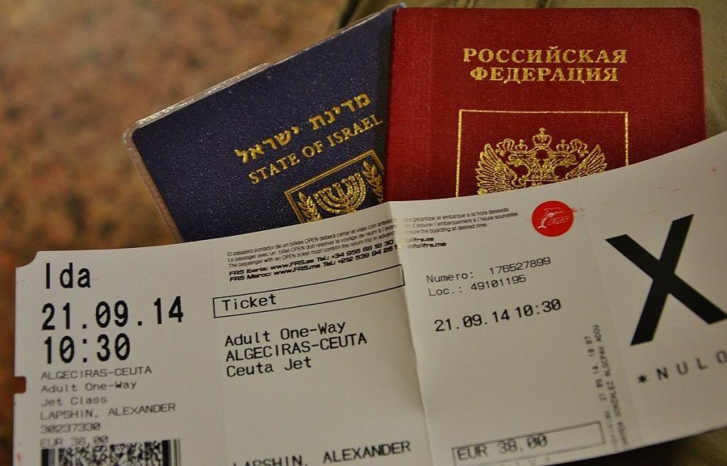 документы для визы в Марокко