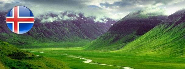транзит через Исландию