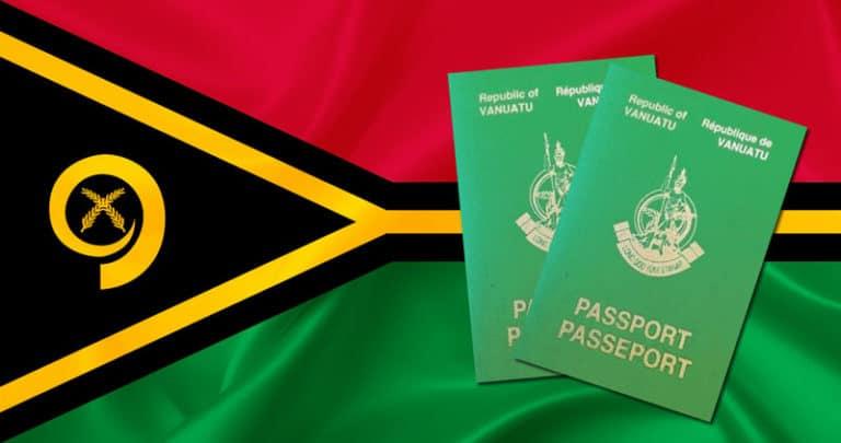 паспорт гражданина Вануату