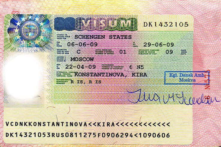 исландская виза