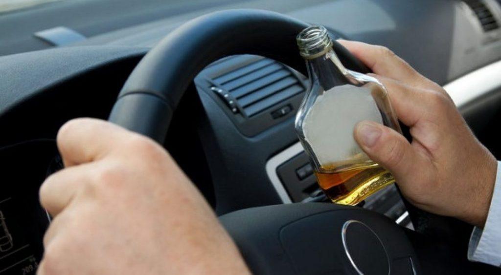 Езда в алкогольном или наркотическом опьянении