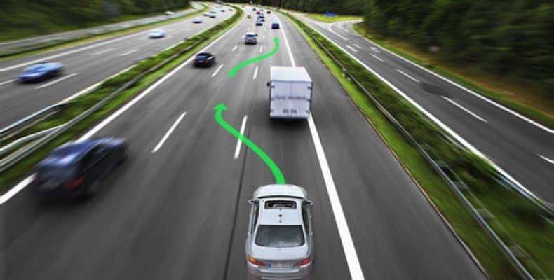 Нарушение правил перемещения по трассе