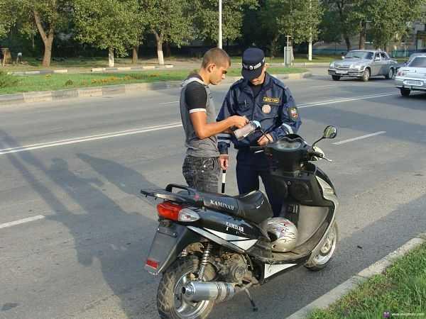 нужны ли права на скутер