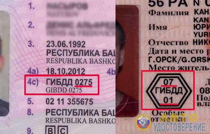 Кем выдано водительское удостоверение - где посмотреть на правах
