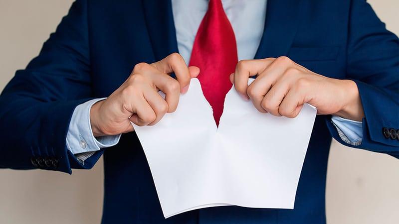 аннуляция заявления об увольнении