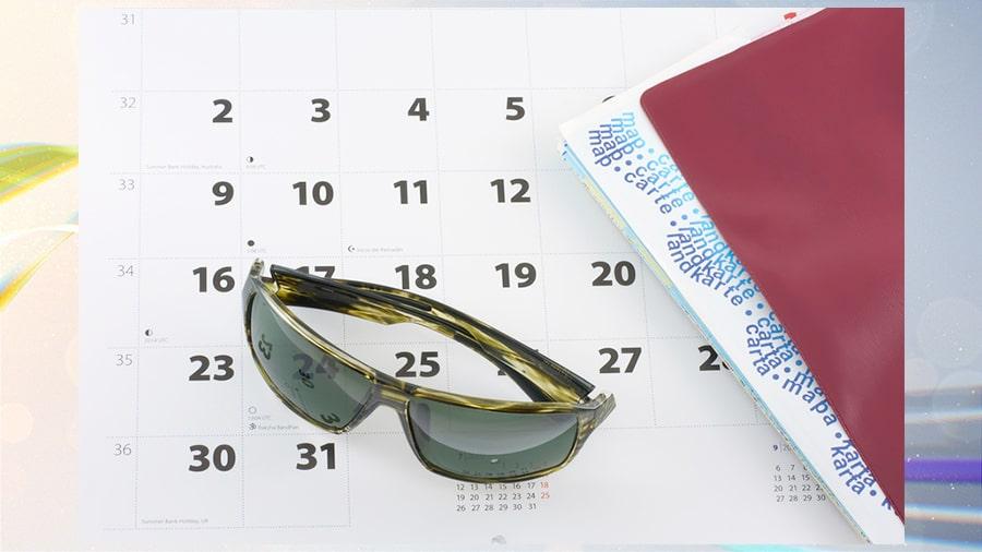 выбор отпуска по месяцам