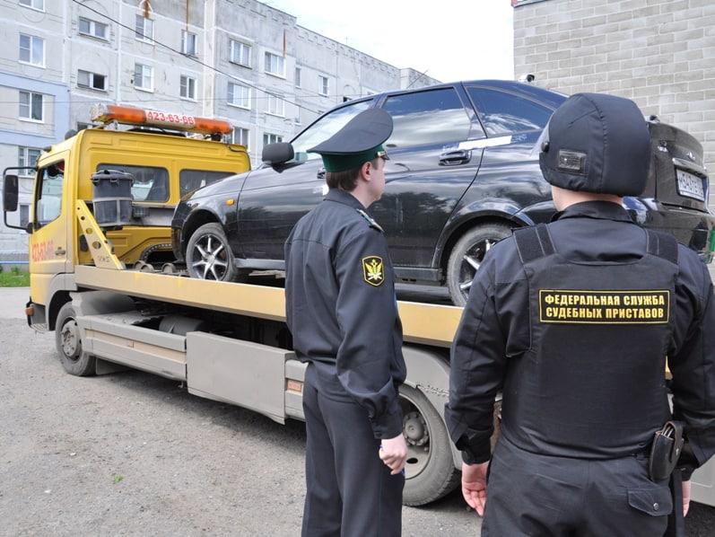 Как спрятать автомобиль от ареста судебными приставами?