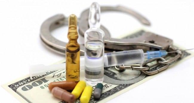 штраф за употребление наркотиков