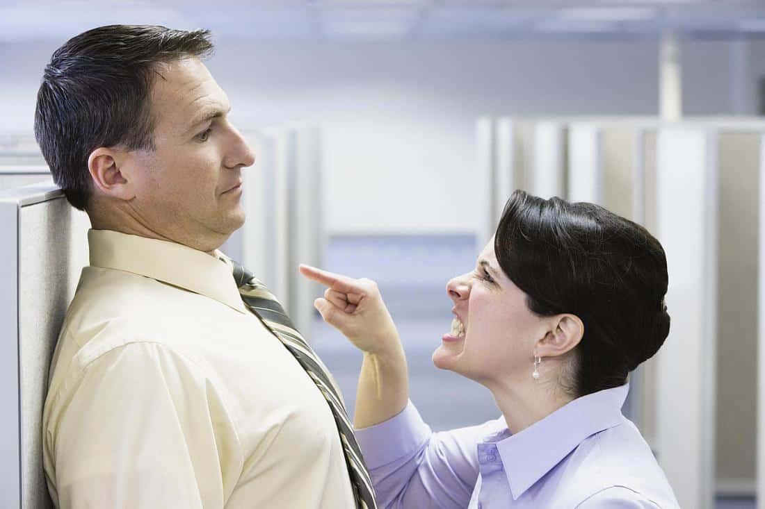 оскорбление на рабочем месте