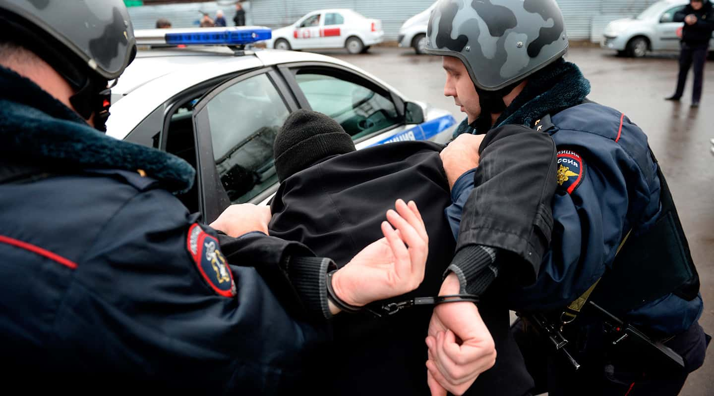 сопротивление работнику полиции
