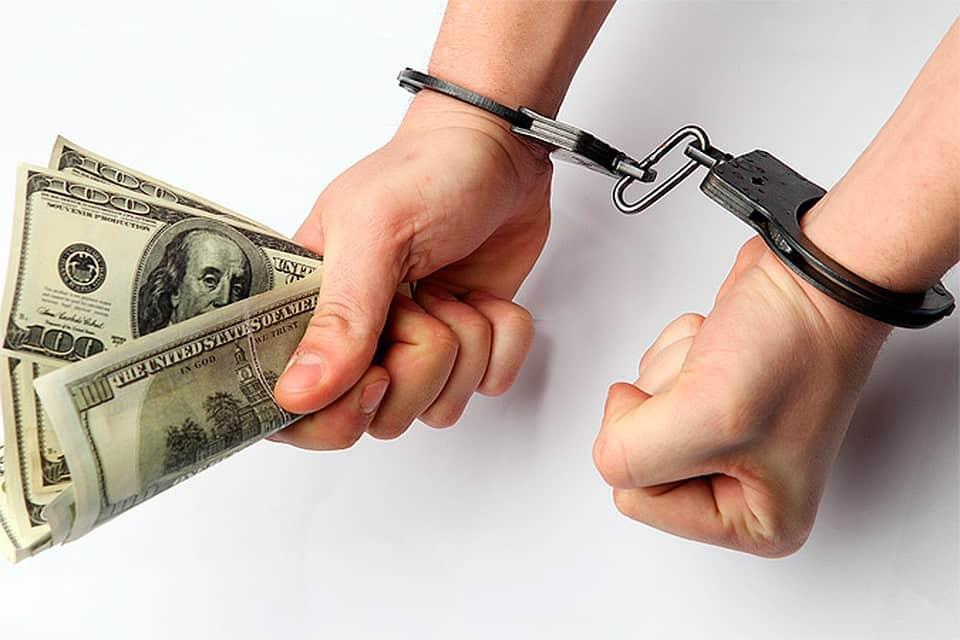 санкции за взяточничество
